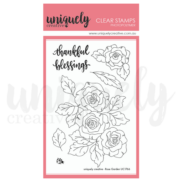 Uniquely Creative - Rose Garden Stamps
