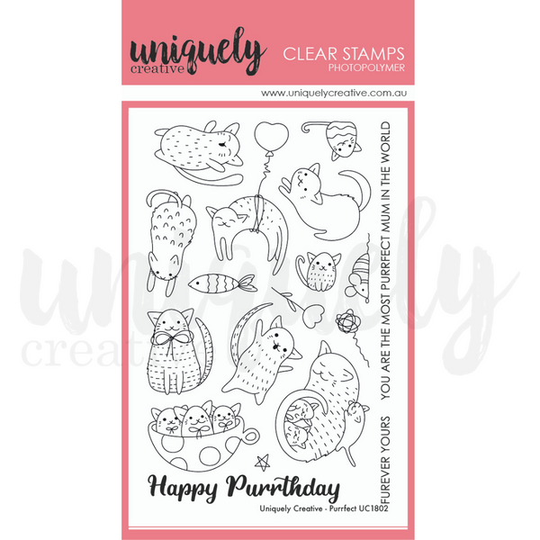 Uniquely Creative - Purrfect Stamps