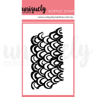 Uniquely Creative - Mini Stamp - Mermaid Mark Making