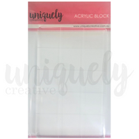 Uniquely Creative - Acrylic Block