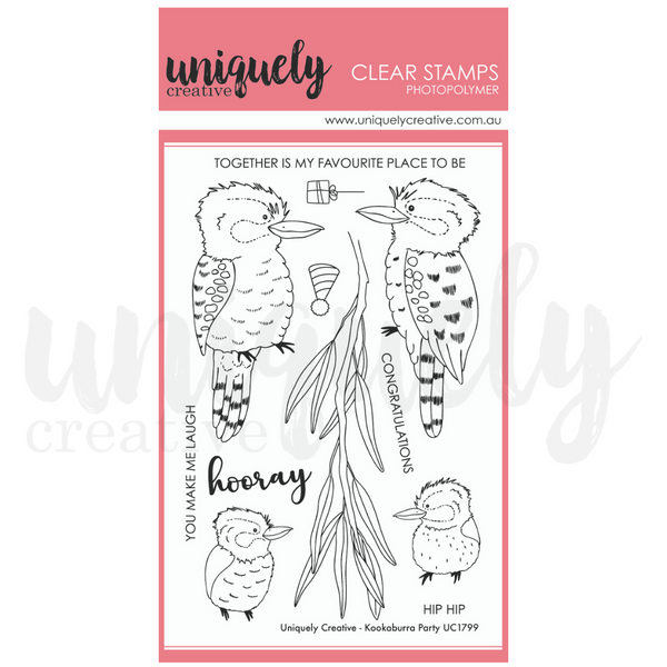 Uniquely Creative - Kookaburra Party Stamps