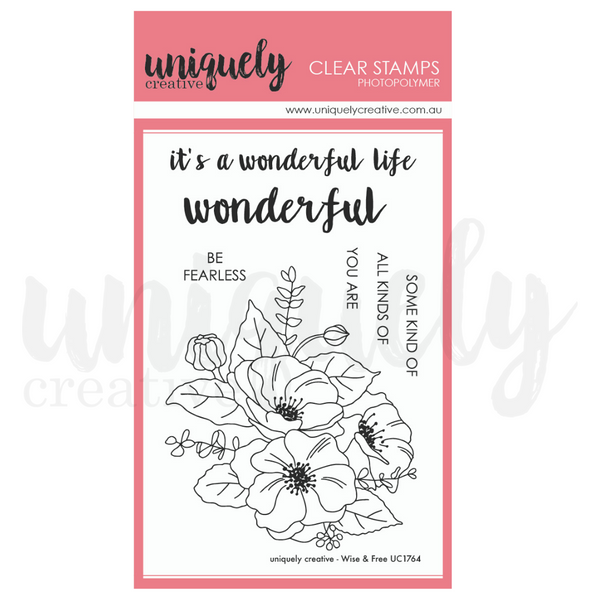 Uniquely Creative - Wise and Free Stamps