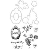 Kaisercraft - Decorative Die & Stamp - Sage & Grace DD954