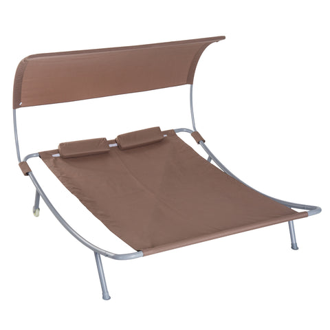 "79"" Double Sun Lounger Outdoor Hammock"