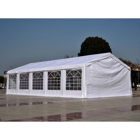 Heavy Duty Party Tent 32x16FT Large Carport Canopy Wedding Event Gazebo White