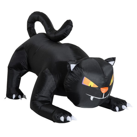 4 Ft Tall Halloween Inflatable Black Cat Airblown Outdoor Yard Decoration