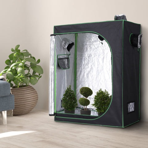 Hydroponic Plant Grow Tent Reflective Mylar Obeservation Window