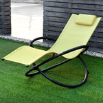 Folding Zero Gravity Lounge Chair with Removable Pillow