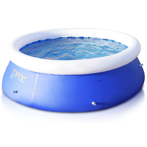 8 ft x 30 inch Easy-Set Giant Inflatable Ground Swimming Pool