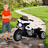 6V Kids Ride On Police Motorcycle