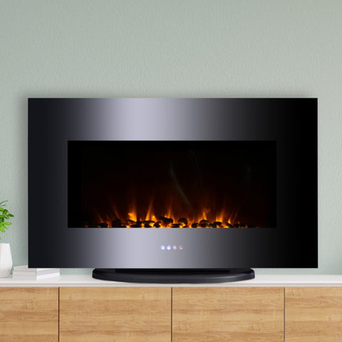 Wall Mounted / Free Standing Electric Fireplace