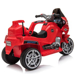 Ride-On Motorcycle for Kids 6V Red