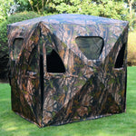 Ground Hunting Blind Portable Pop up Camo Hunter Mesh