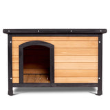 Wooden Extreme Weather Resistant Dog House Pet Shelter