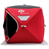3-person Portable Pop-up Ice Shelter Fishing Tent with Bag