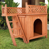 Wooden Puppy Pet Dog House