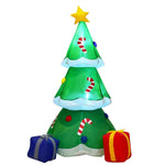 6' Outdoor Inflatable Decoration Christmas Tree with Gift Boxes