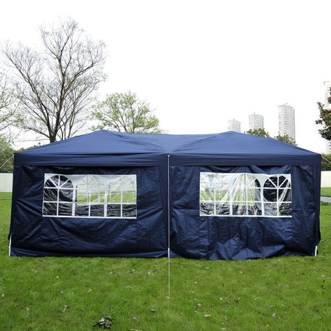 10x20ft Pop up Canopy Instant Party Tent Folding Portable Outdoor with 6 Sidewalls
