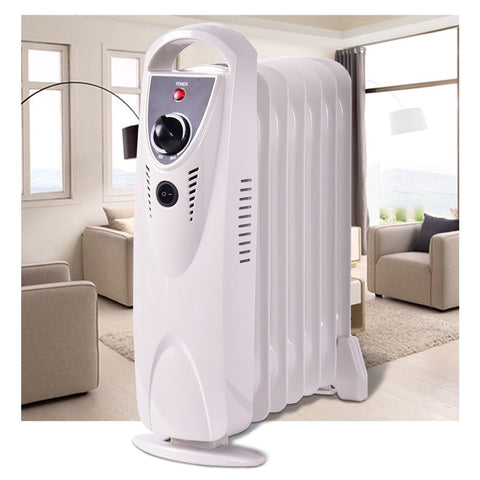Portable 700 W Electric Oil Filled Radiator Heater