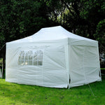 Outsunny Canopy Pop up Tent 10'x15'