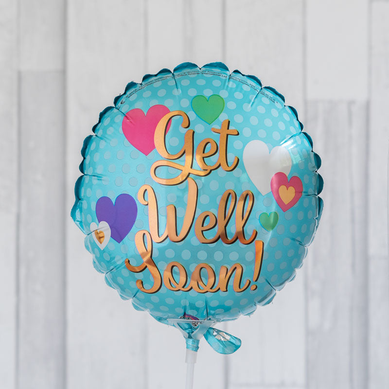 Get Well 9inch Foil Balloon