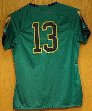GAME WORN WOMEN'S SOCCER JERSEY #13 (Medium)
