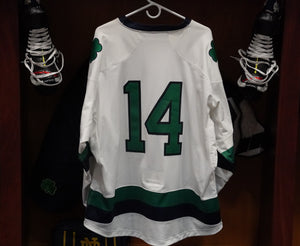 Official Game Worn Hockey Jersey #14 (Size L)