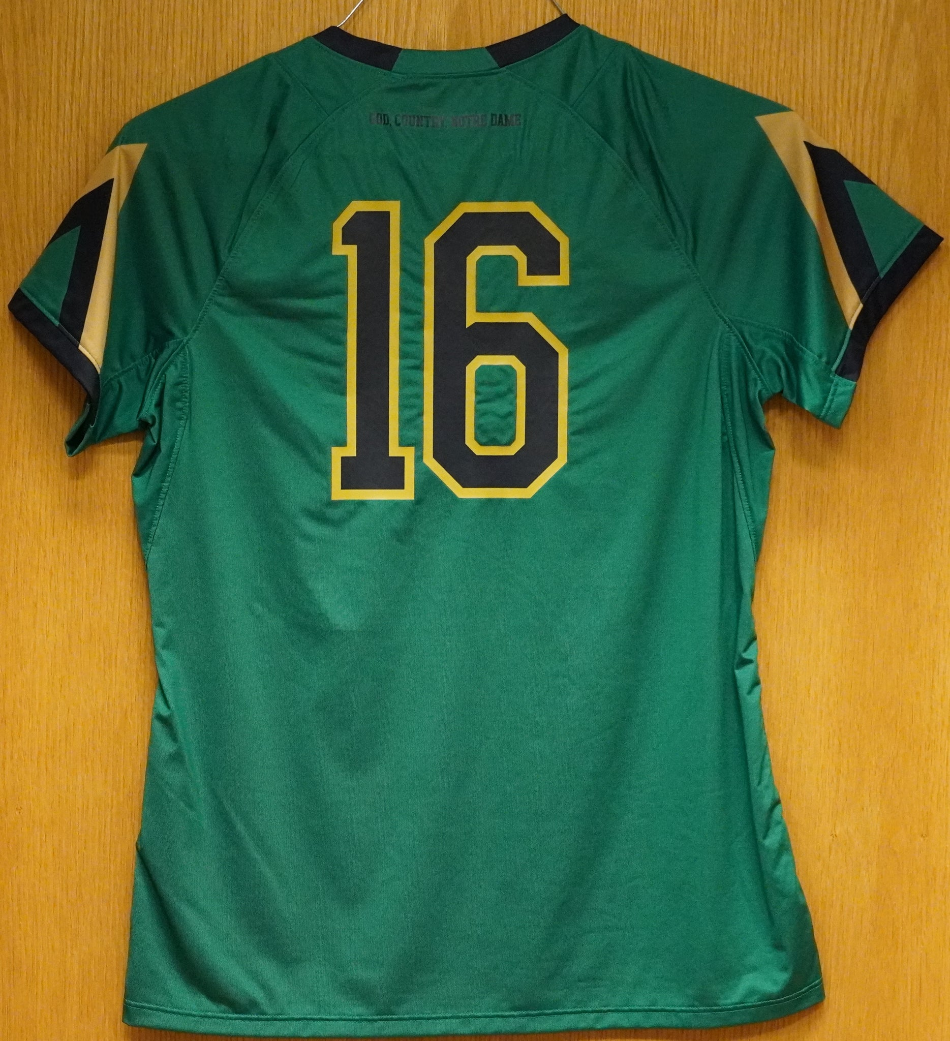 GAME WORN WOMEN'S SOCCER JERSEY #16 (Medium)