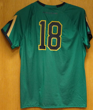 GAME WORN WOMEN'S SOCCER JERSEY #18 (XL)