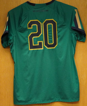 GAME WORN WOMEN'S SOCCER JERSEY #20 (Large)