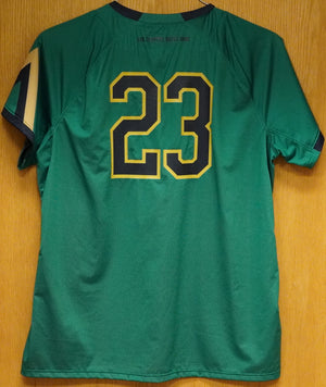 GAME WORN WOMEN'S SOCCER JERSEY #23 (XL)