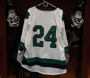 Official Game Worn Hockey Jersey #24 (Size L)