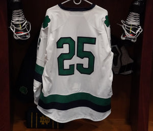 Official Game Worn Hockey Jersey #25 (Size L)