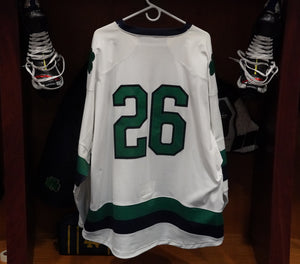 Official Game Worn Hockey Jersey #26 (Size XL)