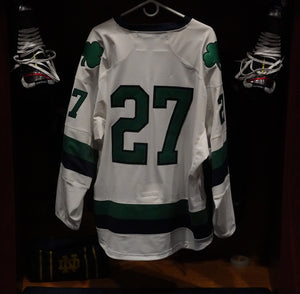Official Game Worn Hockey Jersey #27 (Size L)
