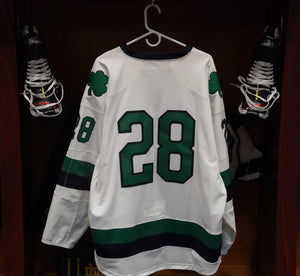 Official Game Worn Hockey Jersey #28 (Size XL)