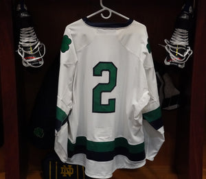 Official Game Worn Hockey Jersey #2 (Size XL)