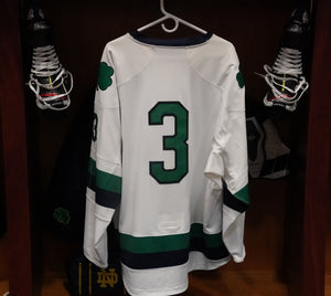 Official Game Worn Hockey Jersey #3 (Size XL)