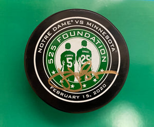 Official Game Used Autographed Hockey Puck #1
