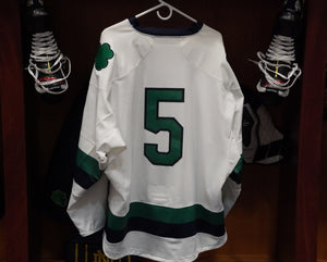 Official Game Worn Hockey Jersey #5 (Size L)