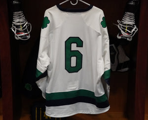 Official Game Worn Hockey Jersey #6 (Size L)