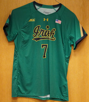 GAME WORN WOMEN'S SOCCER JERSEY #7 (Large)