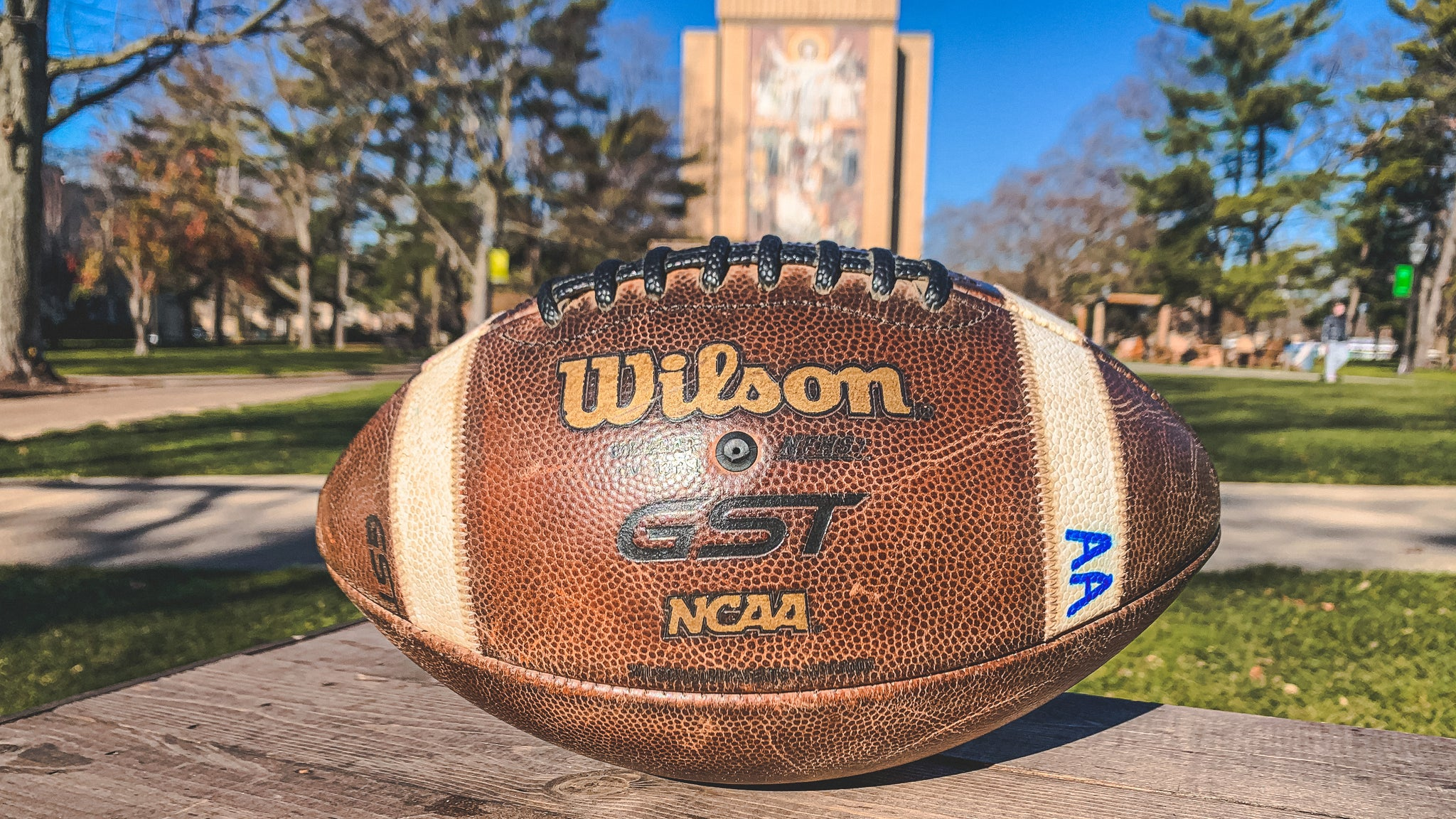 Official Notre Dame vs. Clemson Game Ball