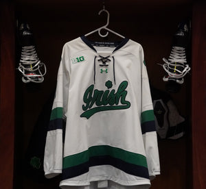 Official Game Worn Hockey Jersey #8 (Size XL)