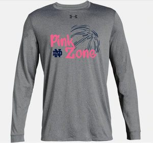 Pink Zone Customized Warm-up Shirt - Size M (D)