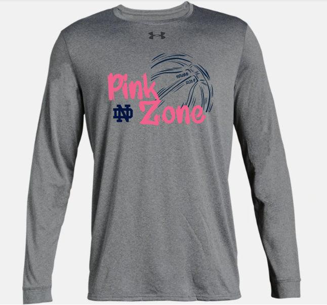 Pink Zone Customized Warm-up Shirt - Size L (B)