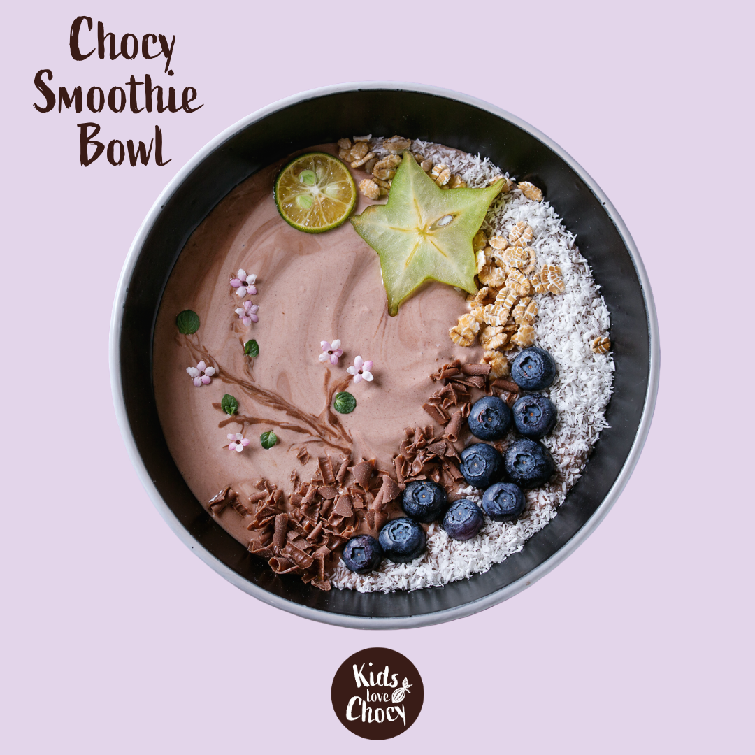 REZEPT: Chocy Smoothie Bowl