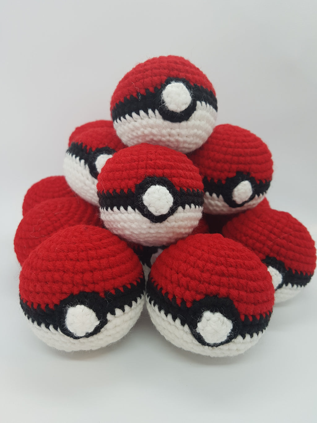 Red and White Balls