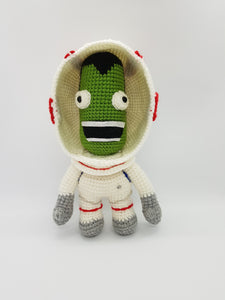 Happy Green Spaceman