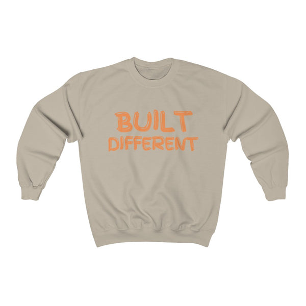 Built Different Unisex Heavy Blend™ Crewneck Sweatshirt